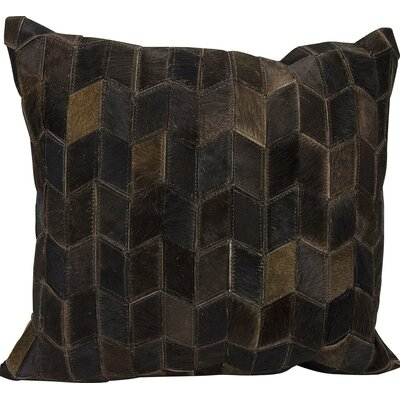Joseph Abboud Throw Pillow Color: Dark Brown