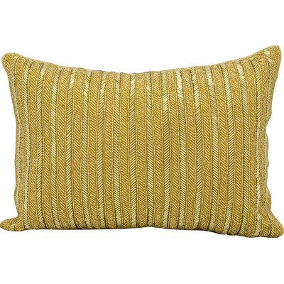 Michael Amini Throw Pillow Color: Gold