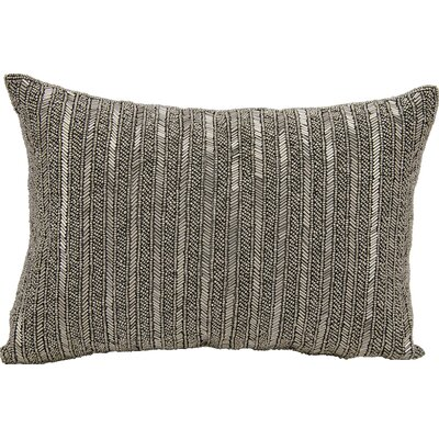 Michael Amini Throw Pillow Color: Pewter