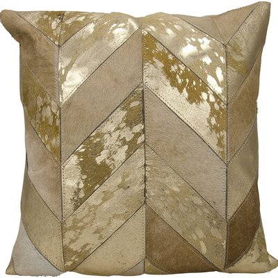Kathy Ireland Throw Pillow Color: Beige