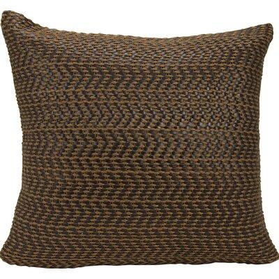 Joseph Abboud Throw Pillow Color: Brown