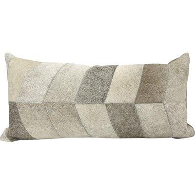 Joseph Abboud Lumbar Pillow Color: Light Gray