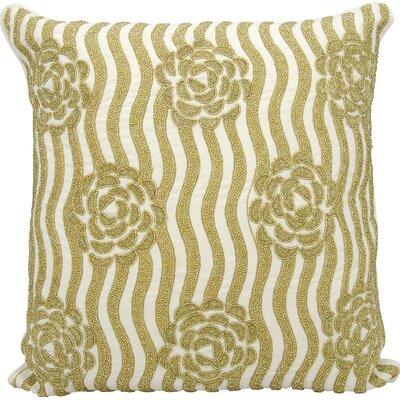 Kathy Ireland Throw Pillow Color: Gold