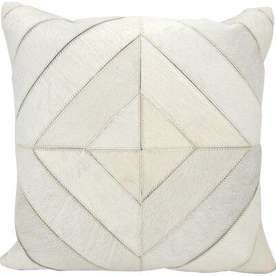Joseph Abboud Throw Pillow Color: White