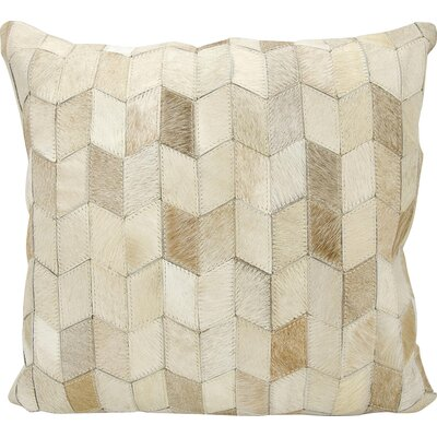 Joseph Abboud Throw Pillow Color: Beige