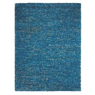 Torvehallerne Turquoise Area Rug Rug Size: 56 x 75