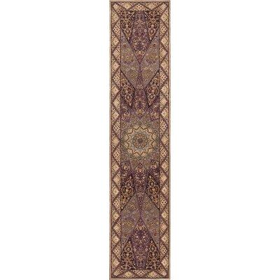 2000 Lavender Area Rug Rug Size: Runner 23 x 8