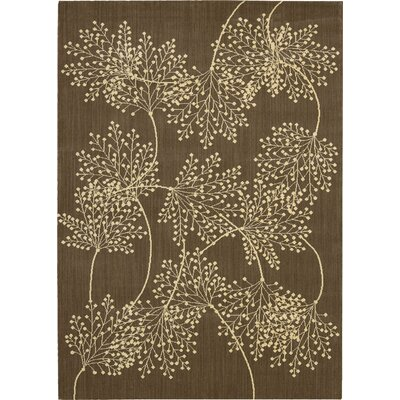 Hartville Chocolate Area Rug Rug Size: Rectangle 53 x 75