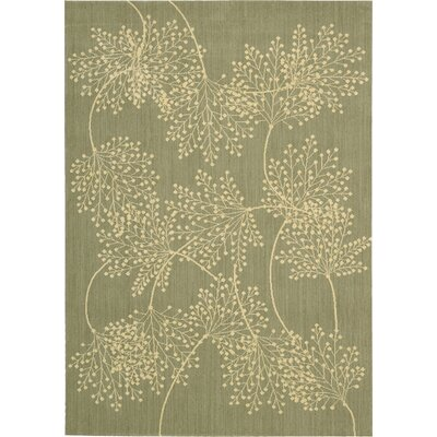 Hartville Sage Moss Area Rug Rug Size: Rectangle 96 x 13