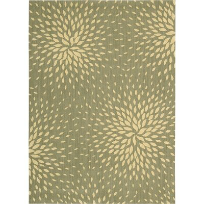 Jere Light Green Area Rug Rug Size: 36 x 56