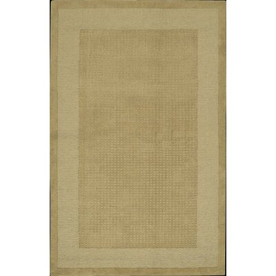 Aspasia Hand-Tufted Sand Area Rug Rug Size: Rectangle 36 x 56