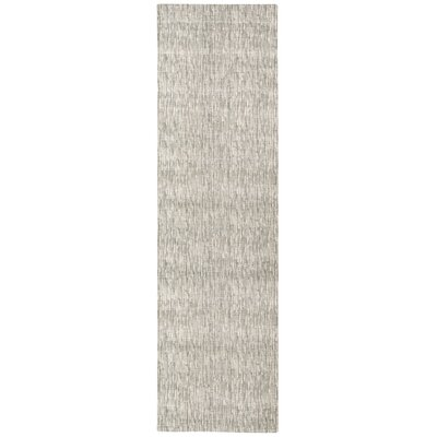Coby Gray Wool Area Rug Rug Size: Runner 23 x 8