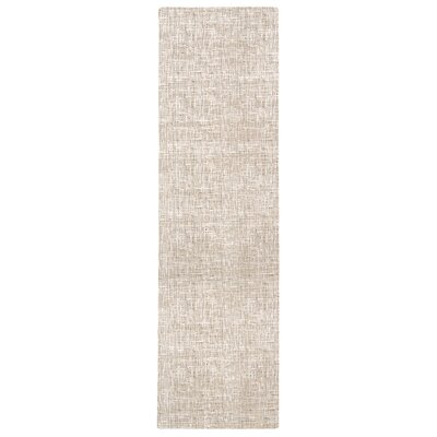 Vito Solid Gray Area Rug Rug Size: Runner 23 x 8