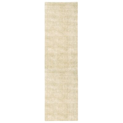 Trace Beige Area Rug Rug Size: Runner 23 x 8