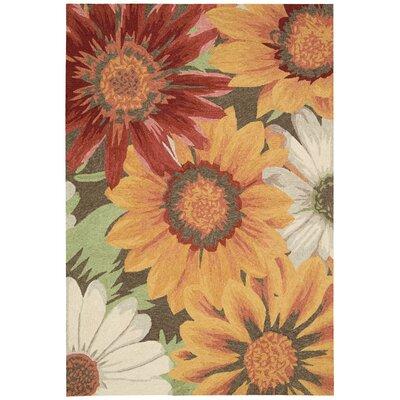 South Beach Sunflower Indoor/Outdoor Area Rug Rug Size: 10 x 13