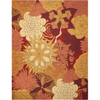 South Beach Hand-Woven Beige/Brown Indoor/Outdoor Area Rug Rug Size: 26 x 4