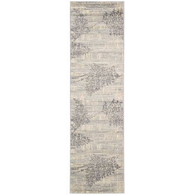 Hassie Champagne Area Rug Rug Size: Runner 23 x 8