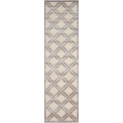 Padgett Ivory Area Rug Rug Size: Runner 23 x 8