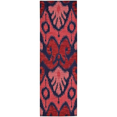 Siam Red Area Rug Rug Size: Runner 23 x 76