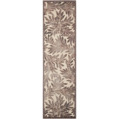Illusions Ivory Area Rug Rug Size: Runner 23 x 8
