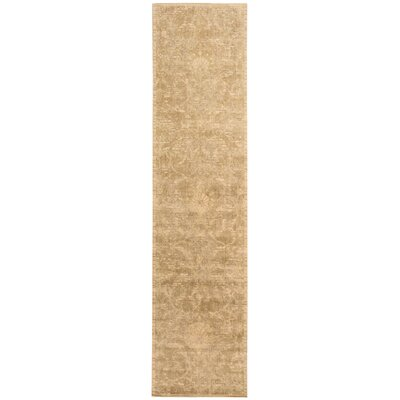 Silk Elements Sand Area Rug Rug Size: Runner 25 x 10