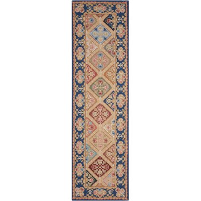 Country Heritage Multi Rug Rug Size: Runner 23 x 8