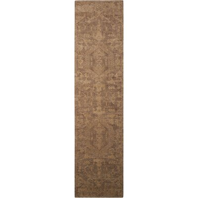 Dickinson Industrial Taupe Area Rug Rug Size: Runner 25 x 10