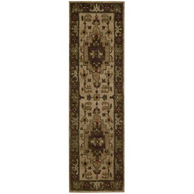 Tahoe Hand-Knotted Beige Area Rug Rug Size: Runner 23 x 8
