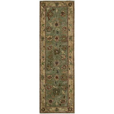 Tahoe Green Area Rug Rug Size: Runner 23 x 8