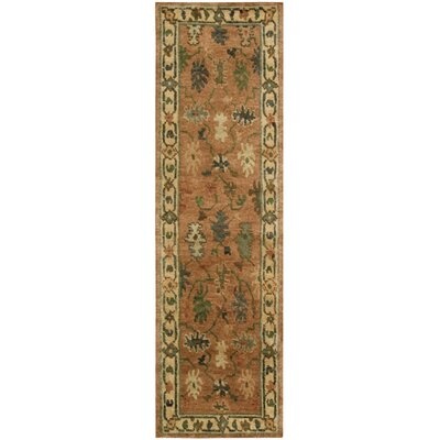 Tahoe Copper Area Rug Rug Size: Runner 23 x 8