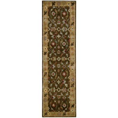 Tahoe Hand-Knotted Espresso Area Rug Rug Size: Runner 23 x 8