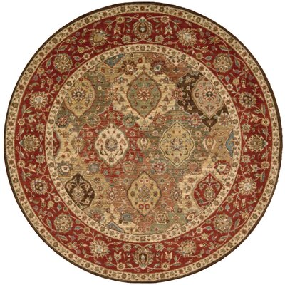 Living Treasures Rug Rug Size: Round 510