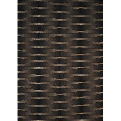 Anacari Hand-Tufted Onyx Area Rug Rug Size: 8 x 11