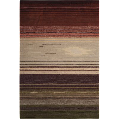 Fenoglio Forest Hand-Tufted Area Rug Rug Size: Rectangle 5 x 76