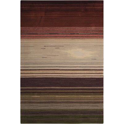 Fenoglio Forest Hand-Tufted Area Rug Rug Size: 3'6