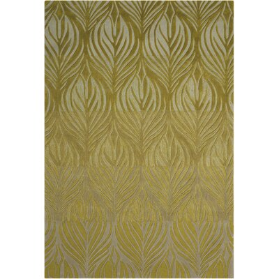 Rhames Hand-Tufted Green Area Rug Rug Size: Rectangle 36 x 56