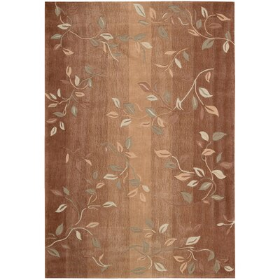 Brittni Hand-Tufted Cinnamon Area Rug Rug Size: Rectangle 5 x 76