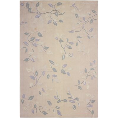 Brittni Hand-Tufted Cream Area Rug Rug Size: Rectangle 5 x 76