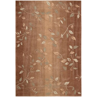 Brittni Hand-Tufted Cinnamon Area Rug Rug Size: Rectangle 73 x 93
