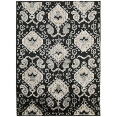 Duarte Black Outdoor Rug Rug Size: Rectangle 79 x 10