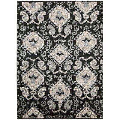 Duarte Black Outdoor Rug Rug Size: Rectangle 79 x 10