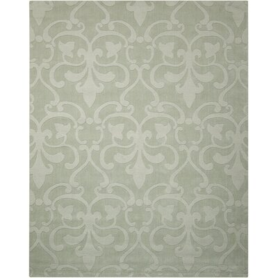 Barcelona Hand-Tufted Light Blue Area Rug Rug Size: 5'3