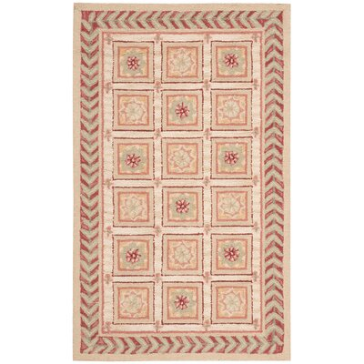 Kendall Beige Rug Rug Size: Rectangle 36 x 56