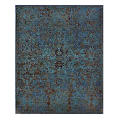 Eternal Peacock Area Rug Rug Size: 99 x 13