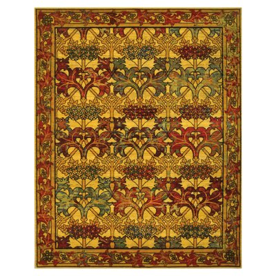 "Eternal Stained Glass Latticework Area Rug Rug Size: 8'6"" x 11'6"" 099446209962"