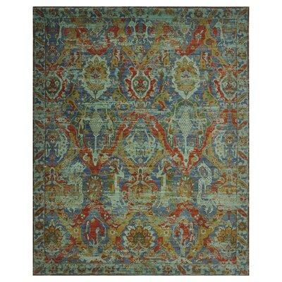 Eternal Turquoise Area Rug Rug Size: 56 x 8