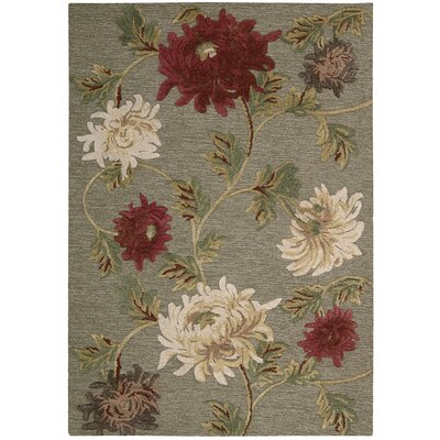 Lymon Hand-Tufted Briarwood Area Rug Rug Size: Rectangle 26 x 4