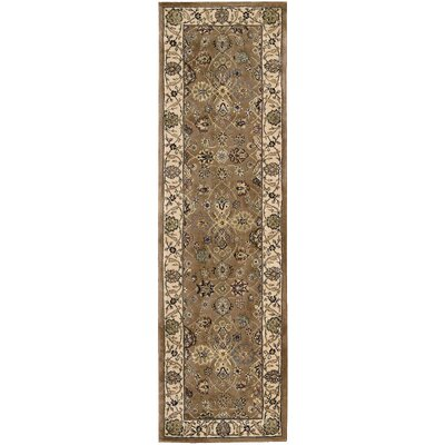 2000 Green Area Rug Rug Size: Runner 26 x 12