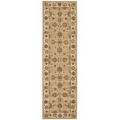 2000 Brown Area Rug Rug Size: Runner 23 x 8