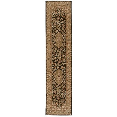 Bryony Hand Woven Wool Tan Indoor Area Rug Rug Size: Runner 26 x 12